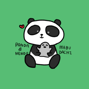 Panda and clay